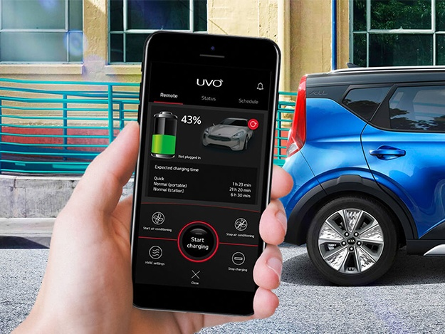 Kia e-Soul UVO App Features